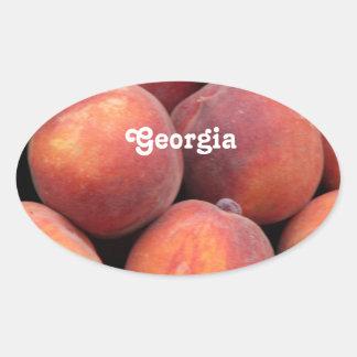 Georgia Peach Stickers