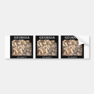 Georgia Peanut Bumper Sticker