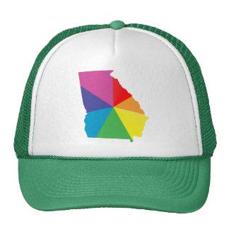 georgia pride. angled. cap