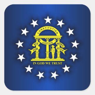 Georgia Pride Square Sticker