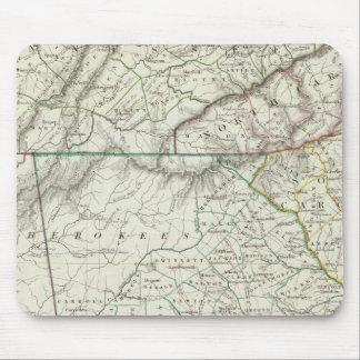 Georgia, pts of NC, SC, Tenn, Ala, Florida Mouse Mat