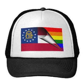 Georgia Rainbow Flag Cap
