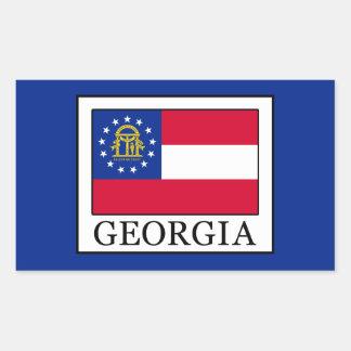 Georgia Rectangular Sticker