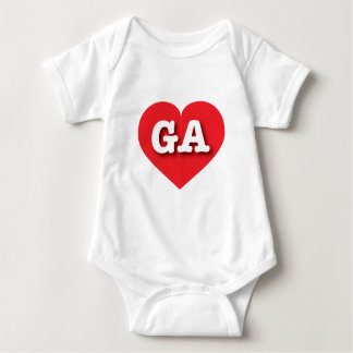 Georgia Red Heart - Big Love T Shirts