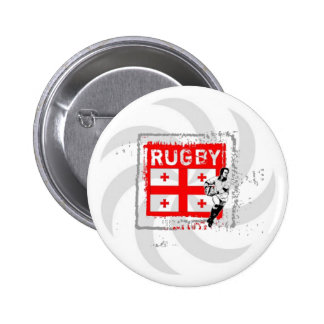 georgia rugby Button