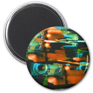georgia rythmn 6 cm round magnet