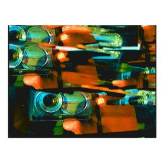 georgia rythmn (photoshot from car mirror) postcard