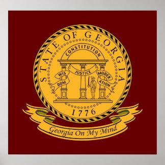 Georgia Seal Poster