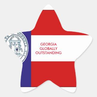 GEORGIA STAR STICKER