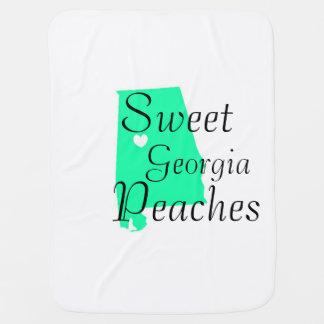 Georgia State Baby Blanket