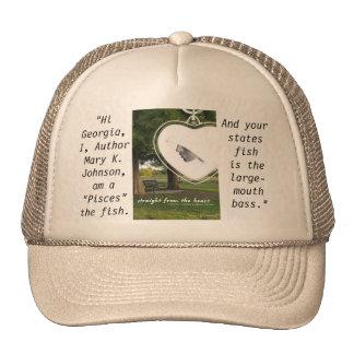 Georgia state mesh hats