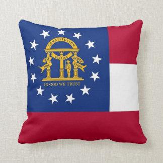 Georgia State Flag American MoJo Pillow Cushions