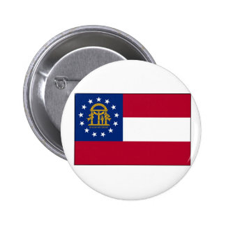 Georgia State Flag Buttons