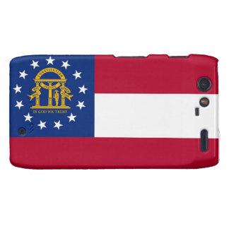 Georgia State Flag Droid RAZR Covers