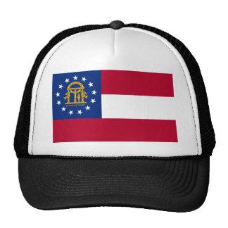 Georgia State Flag Trucker Hats