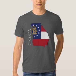 Georgia (State) Flag-Map Shirt