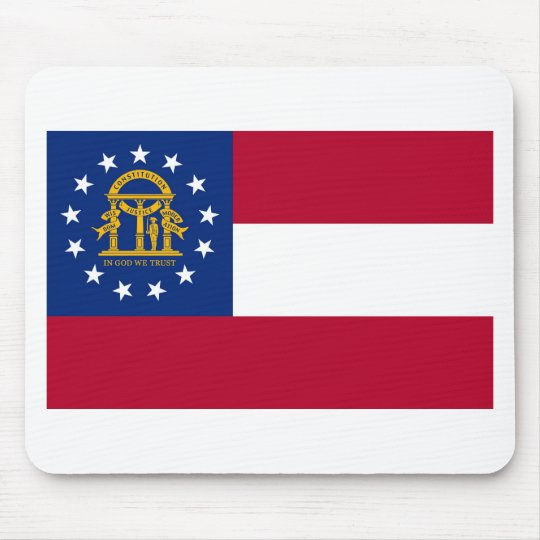 Georgia State Flag Mouse Mat
