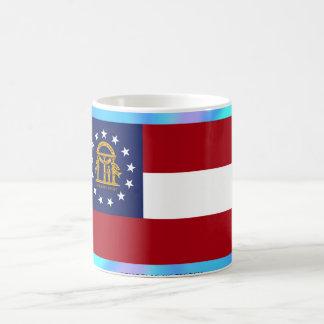 Georgia State Flag Coffee Mugs