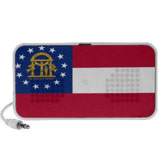 Georgia State Flag Notebook Speaker