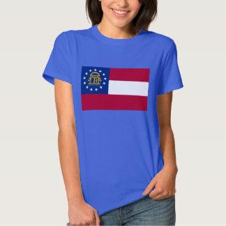 Georgia State Flag Tee Shirts