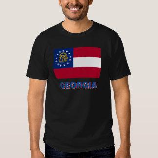 GEORGIA STATE FLAG TSHIRTS