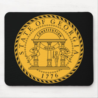 Georgia State Seal Mousepad