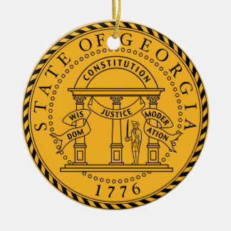 Georgia* State Seal Ornament