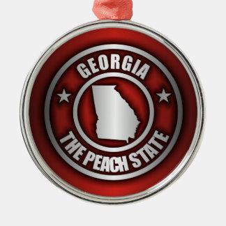 """Georgia Steel"" Ornaments (Red)"