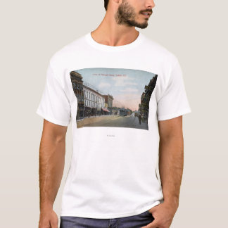 Georgia Street View with Street Car T-Shirt