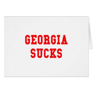 Georgia Sucks Cards