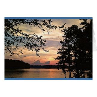 Georgia Sunset - Lake Acworth Card