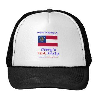 Georgia TEA Party - We re Taxed Enough Already Trucker Hats