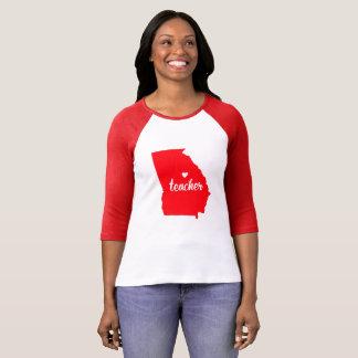 Georgia Teacher Tshirt (Red)