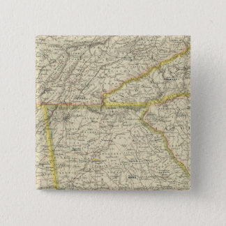 Georgia, Tennessee,  Alabama 15 Cm Square Badge