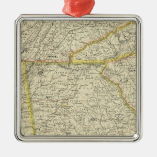 Georgia, Tennessee,  Alabama Christmas Ornament