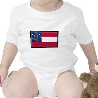 Georgia U.S. Flag Baby Bodysuit