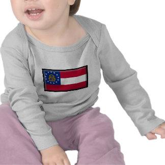 Georgia U.S. Flag T Shirts