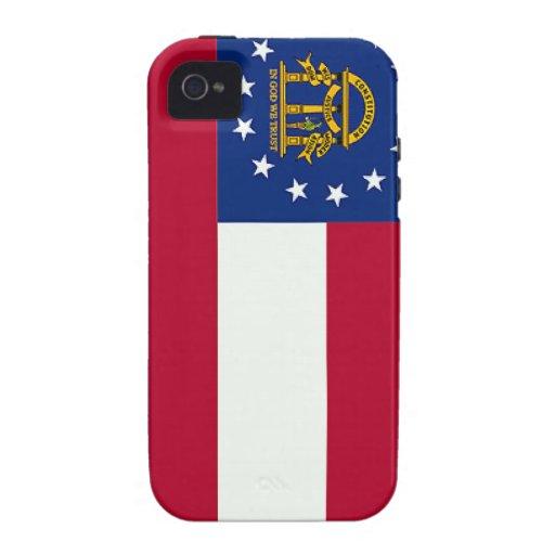 Georgia (US) Flag Case-Mate iPhone 4 Case