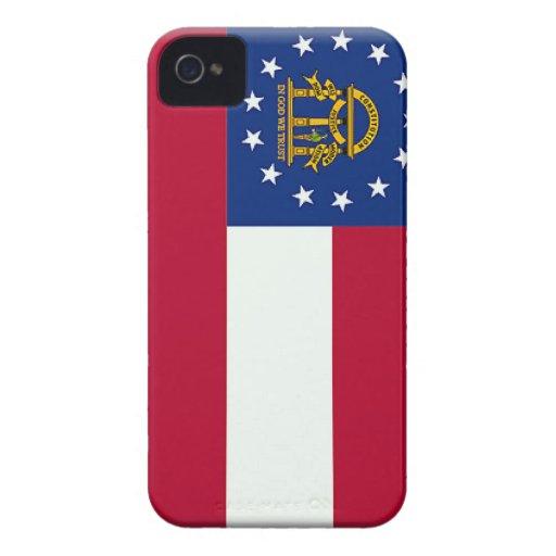 Georgia (US) Flag Case-Mate iPhone 4 Cases