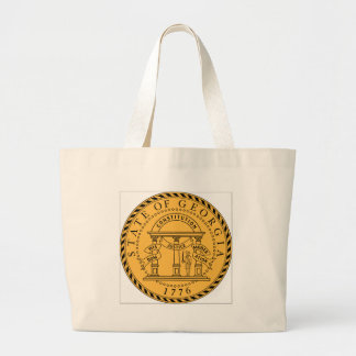 Georgia (US) State Seal Tote Bag