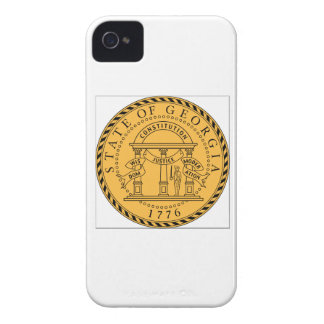 Georgia (US) State Seal iPhone 4 Cover