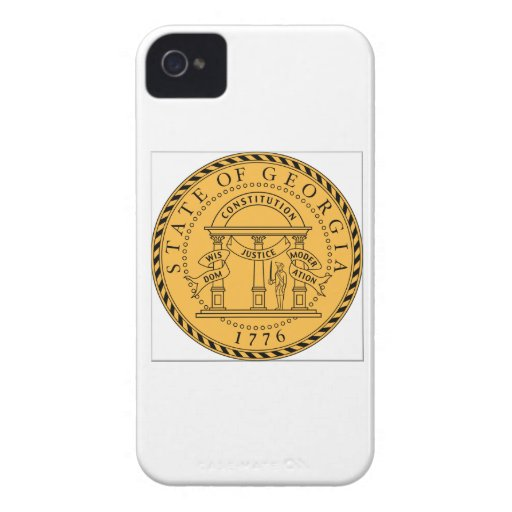 Georgia (US) State Seal iPhone 4 Cover