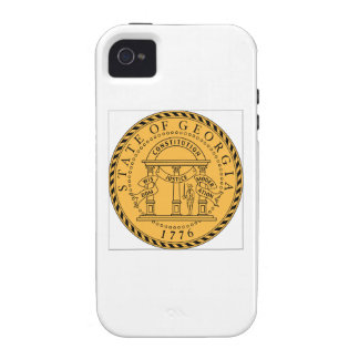 Georgia (US) State Seal iPhone 4 Cases
