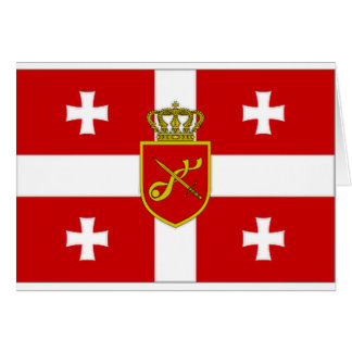 Georgia War Flag Cards