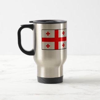 Georgia With Border, Georgia flag Coffee Mug
