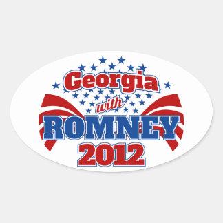 Georgia with Romney 2012 Sticker