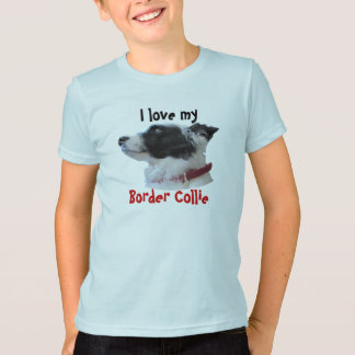 georgiacameo, I love my, Border Collie T-Shirt