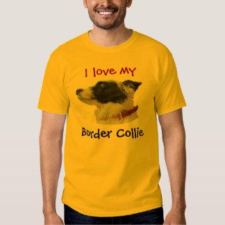 georgiacameo, I love my , Border Collie T-shirts