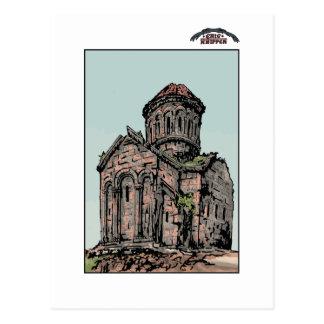 Georgian church postcard