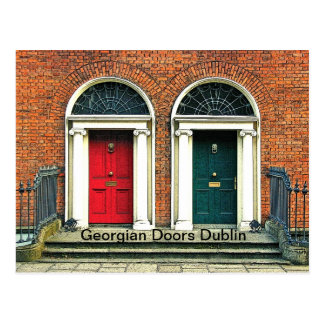 Georgian Doors Postcard